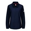 Bulwark iQ Series® Women's Long Sleeve Polo with 4-Button... - iQ Series® Women's Long Sleeve Polo with 4-Button Placket