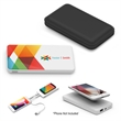 PowerWireless II - Wireless charger using Qi technology with a 6000 mAh lithium-ion grade-A non-recycled battery.