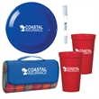 Picnic In The Park Kit - Kit with picnic blanket, cups, and more for outdoor fun.