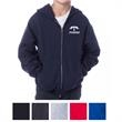 Independent Trading Company Youth Midweight Zip Hooded Sw... - Standard fit youth midweight zip hooded sweatshirt made of 80/20 cotton/polyester with twill neck tape.