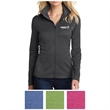 OGIO Ladies' Pixel Full-Zip - Full-zip jacket made of polyester with a cowl collar and moisture wicking technology.