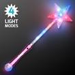 Imprinted Pink LED Super Star Wands