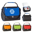Triangle Insulated Lunch Bag - Triangle Insulated Lunch Bag.  Made of 600 Denier Polyester.  Large Front Zippered Compartment.  Outside Front Pocket.