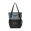 "Jordan Convention Tote - Tote bag made of 600 denier polyester with several pockets and sized to fit up to a 10"" tablet."