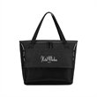 Maui Pacific Cooler Tote - Cooler tote with an insulated main compartment, PEVA heat-sealed lining, and a 36-can capacity.