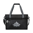 Dumont XL Cooler - Cooler tote with an insulated main compartment, PEVA heat-sealed lining, and a 45-can capacity.