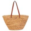 Shoulder Tote - Natural straw Shoulder Tote bag with magnetic snap.