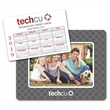 """Calendar Punch Out Picture Frame - 5.25"""" x 6.75"""" magnetic picture frame with punch out calendar; includes four color process imprinting."""