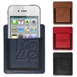 Leeman™ Handy Pocket /Phone Holder - Made of PU and elastic with adhesive on back to attach to notebooks bags and other places for convenience.