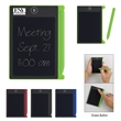 """Digital Notepad With Stylus - Digital notepad measuring 3 1/2"""" x 4 1/2"""" with a 4.4"""" display and a matching stylus."""