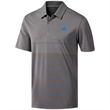 Adidas Ultimate365 Heather Stripe Polo Shirt