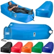Big Lounger - Inflatable lazy bag made of 210T material with a wide base for a quick rest.