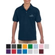 Gildan® DryBlend® Youth Jersey Polo - Preshunk 50% Cotton/50% Polyester Jersey Knit, 5.6 oz. Youth Polo.