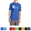 Port & Company Youth Performance Blend Tee - 4.5 oz. youth performance t-shirt, made from a blend of polyester (65%) and cotton (35%)