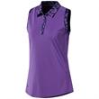 Adidas Women's Ultimate365 Printed Sleeveless Polo Shirt
