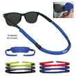 3-In-1 Sunglass Cover - Polyester/spandex 3-in-1 sunglasses cover that converts to a strap or cleaning cloth.