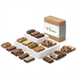 Custom Bar & Sprite Combo - Delicious gift of snack-sized brownies and buttery bars