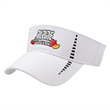 Performance Visor - Polyester visor with UV guard and quick dry.