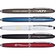 Schifano Triple Function Pen - Ultramodern multifunction executive pen with handy stylus.