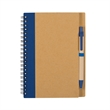 Eco-Inspired Spiral Notebook & Pen - Eco spiral notebook and pen.