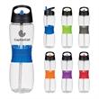 25 Oz. Tritan™ Hourglass Sports Bottle - Hourglass shape sports bottle, 25oz.
