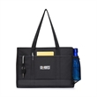 "Mobile Office Tote - Mobile office tote with 25.5"" shoulder straps and a space to hold up to a 17"" laptop."