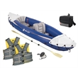 Coleman Fun On The Water Package - Water activity package that includes a two-person kayak kit, nine-can cooler and two adult boating vests from Coleman