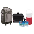 Coleman Soft Sided Deluxe Cooler Package - Set of coolers that includes a two-liter jug, 18-can cooler, 42-can wheeled cooler and two ice pack substitutes from Coleman®
