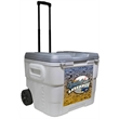 Frio 68 Quart Roller Cooler - Frio 68 Quart Cooler provides 36 hrs of cooling and is equipped with easy-to-carry handles! Custom colors available!