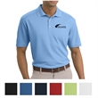 Nike Golf Dri-FIT Classic Polo - Ladies Nike Gold Dri-FIT polo made of 100% polyester with pearlized buttons.