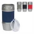 "Manna™ 20 oz. Renegade Stainless Steel Tumbler w/ Silicon... - 3.88"" x 7.06"" x 3.88"" Manna™ 20 oz. insulated steel tumbler with silicone grip and AS plastic lid. FDA approved and BPA free."