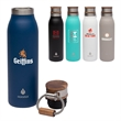 Manna™ Ascend 18 oz. Stainless Steel Water Bottle w/ Acac... - Manna™ 18 oz. Ascend Stainless Steel Water Bottle w/ Acac...