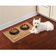 The Pet's Personalized Placemat - Personalized mealtime mat for a dog or cat.
