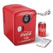 The Bluetooth Speaker Coca-Cola Refrigerator - Coca-Cola cooler with a built-in Bluetooth speaker.