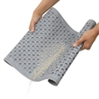 The Litter Trapping Cat Mat (Large) - Patented mat that collects kitty litter from paws to prevent felines from tracking it around the house. Made from durable rubber.