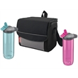 Coleman His & Hers Sip & Chill Package - Coleman® set with two 24 oz. hydration bottles and a 9-can collapsible soft cooler; sold blank