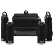 Coleman Hot & Cold Cooler/Beverage For 2 Package - Coleman® set with 18-can collapsible cooler, two 17 oz. thermal mugs and two 24 oz. hydration bottles; sold blank