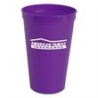 22oz Stadium Cup - 22 oz. stadium cup made of BPA-free, food-grade material.