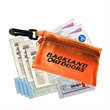 Sunscape First Aid Kit - First aid kit in a vinyl pouch with clip.