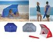 Brolly Sun Shelter - Portable sun/wind shelter.