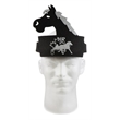 Horse Band Hat - Foam horse band hat. Adjustable band. One size fits all.