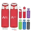24 Oz. Tritan Flip-Top Sports Bottle - 24 Oz. Tritan Flip-Top Sports Bottle. Durable Tritan Material.  Impact And Shatter Resistant.  Meets FDA Requirements.