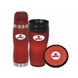 Soft Touch Boxed Set - 16 oz. Thermos boxed set with matching orbit coaster.