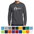 Port & Company Long Sleeve Core Blend Tee - 5.5 oz. long-sleeve t-shirt, made from a 50/50 blend of cotton/polyester, with up to 5% recycled polyester from plastic bottles.