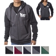 Independent Trading Company Unisex Varsity Zip Hood - Slim fit unisex varsity zip hoodie made of cotton and polyester with a fleece-lined hood.