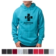 Independent Trading Company Men's Lightweight Hooded Pull... - Men's lightweight hooded pullover made of cotton / polyester with double-needle stitching on all seams.
