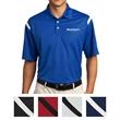 Nike Golf Dri-FIT Shoulder Stripe Polo - 100% polyester polo with Dri-FIT moisture management and distinct shoulder stripe design