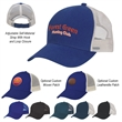 Mesh Back Price Buster Cap - Mesh Back Price Buster Cap with 100% Brushed Cotton Twill Crown, 6 Panel, Medium Profile, Structured Crown & Pre-Curved Visor.