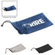 Microfiber Pouch With Drawstring - Microfiber pouch with drawstring is great for sunglass storage.