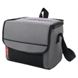 "Coleman 9 Can Collapsible Soft Cooler - 9.5"" x 7.5"" x 6"" collapsible Coleman® cooler that features an adjustable shoulder strap, front pocket and zip-close lid"